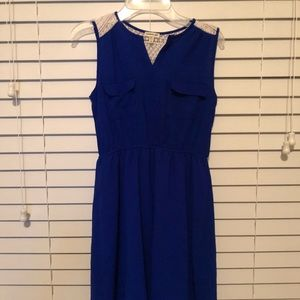 Small royal blue dress